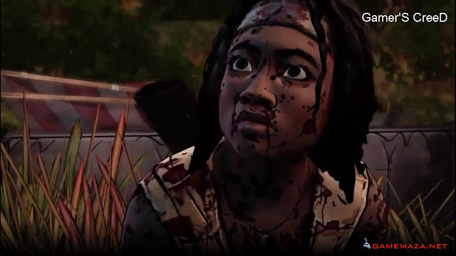 The Walking Dead Michonne Gameplay Screenshot 1