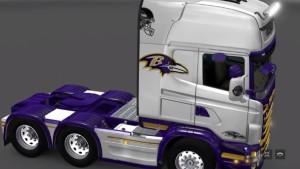 Scania RJL Baltimore Ravens skin