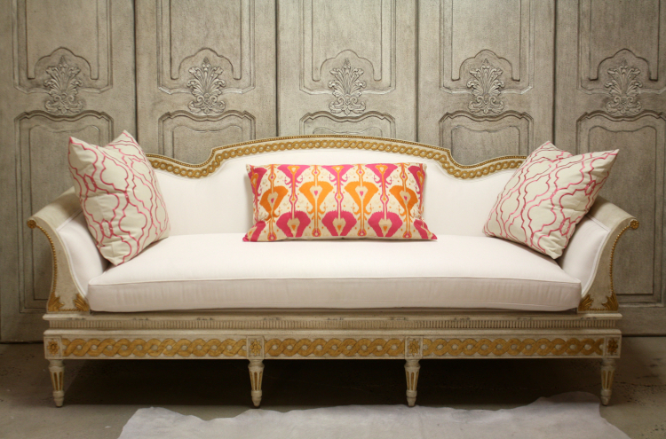 Gustavian Sofa from Swede Collection - found on Hello Lovely Studio