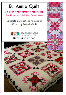 B. Annie Quilt Pattern Digital Download