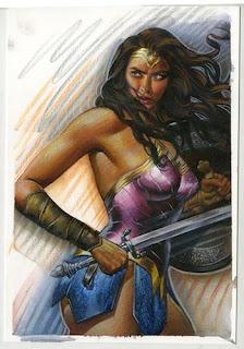 Steve Rude - Wonder Woman (Original)