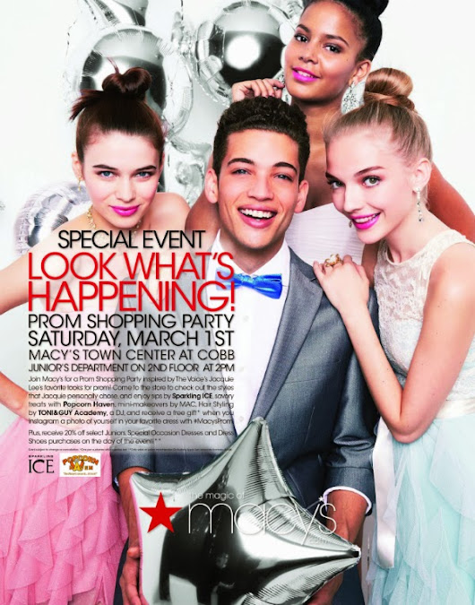 event alert -- Macy's Prom Shopping event