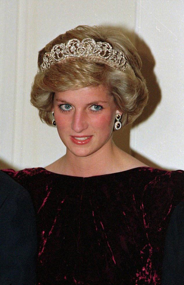 Kate Buckingham Palace Reception Tiara
