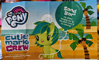 My Little Pony Series 4 Cutie Mark Crew Sand Bar