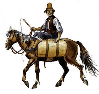 Aguatero a caballo