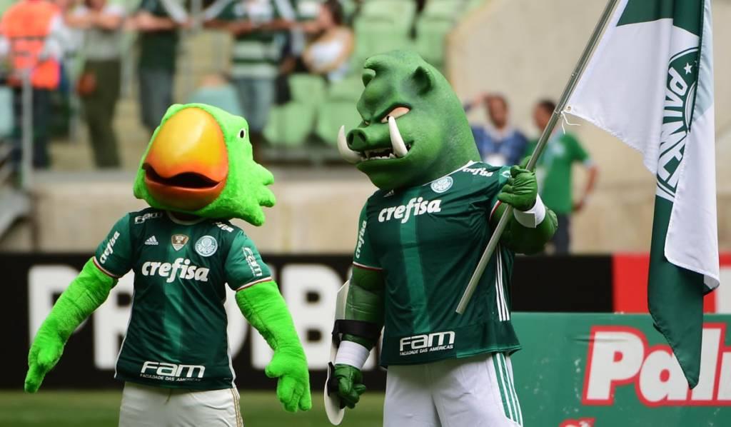 ae516b6d48 Palmeiras oficializa o porco como mascote e apresenta Gobatto ...
