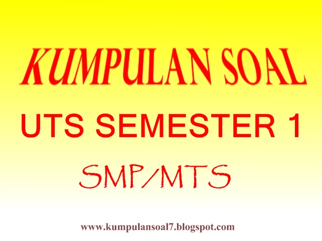 Soal Uts Bahasa Jawa Kelas 7 Smp Mts Semester 1