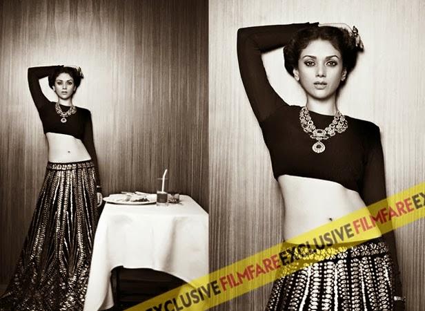 Aditi Rao Hydari Filmfare Hot HQ Photo shoot in various outfits