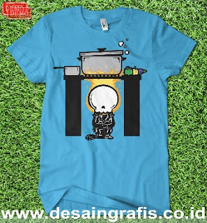 Demo Template kaos anak cdr