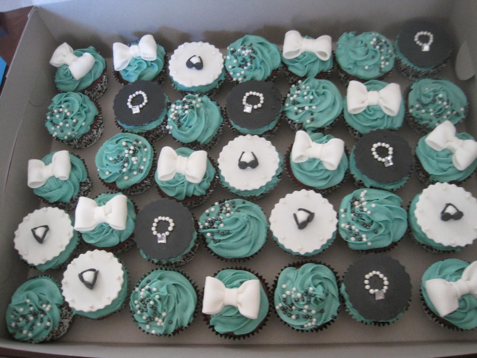 Bridal Shower Cakes   Patisserie Tillemont  Tiffany Bridal Shower Cakes