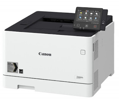 almost foursquare shape divides the printer Canon i Canon i-Sensys LBP654Cx Driver Download