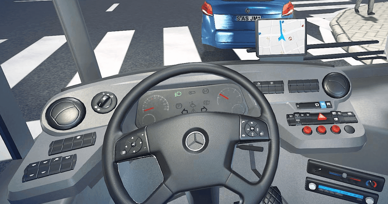 تحميل لعبة bus simulator 16
