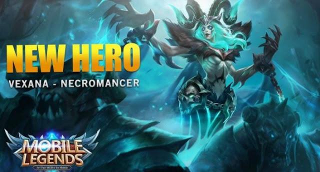 Hero Baru Vexana – Necromancer, Ratu Kegelapan Mobile Legend