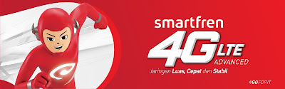 Smartfren 4G LTE Advanced Go for It