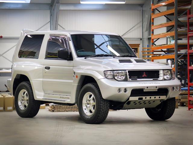1998 Mitsubishi Pajero Evolution - #Mitsubishi #Pajero #Evolution #offroad