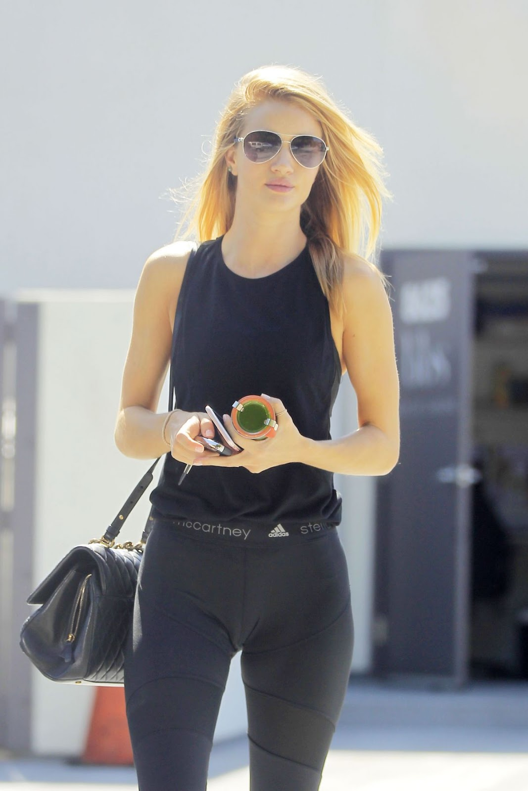 Rosie Huntington Whiteley Leaves Body By Simone In West Hollywood