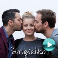 """Singielka - naciśnij play, aby otworzyć stronę z odcinkami serialu """"Singielka"""" (odcinki online za darmo)"""