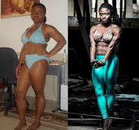 Female bodybuilding Amazing transformation