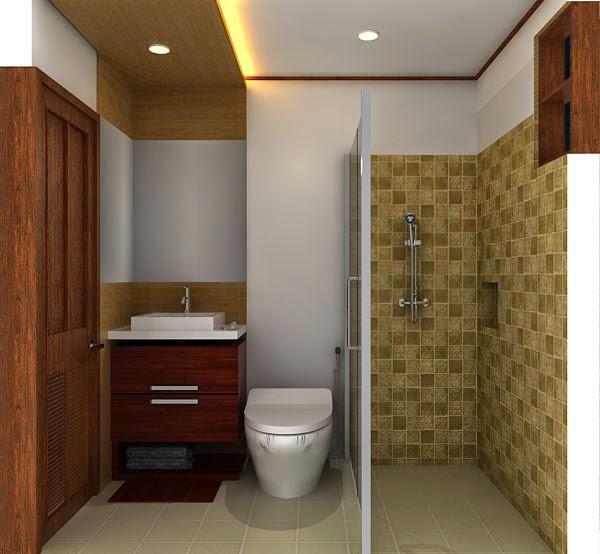 Desain Kamar mandi minimalis 2015