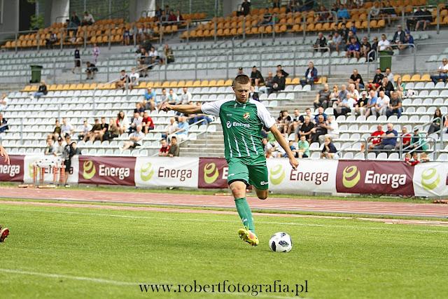 Sparing Gryf Lechia stadion 650 lecia