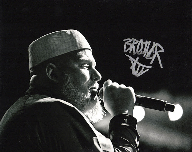 Brother Ali Rhymesayers Autographed Photo