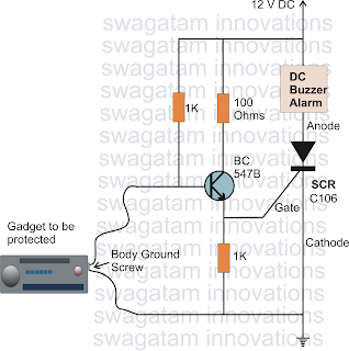 Swith For diagram: How to Make Simple SCR Application Circuits