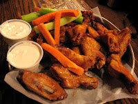 The Bidwell Tavern's chicken wings are second to none!