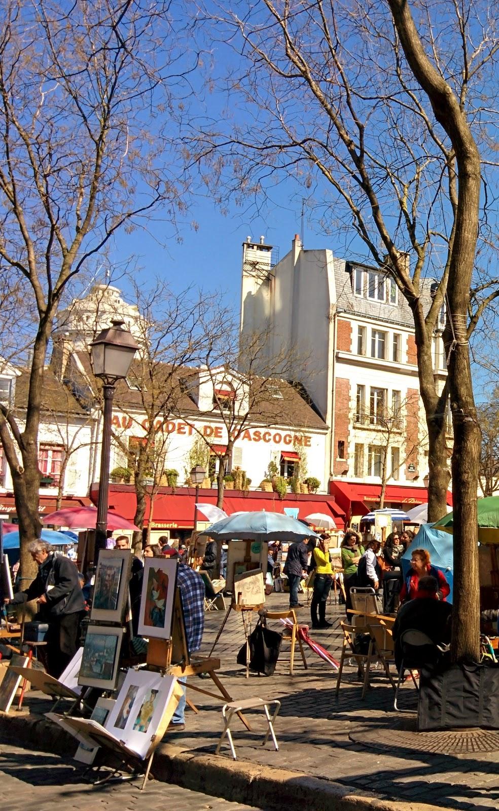 Place du Tertre, Montmartre, París