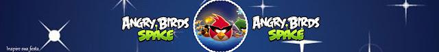 Etiquetas para Imprimir Gratis de Angry Birds en el Espacio.