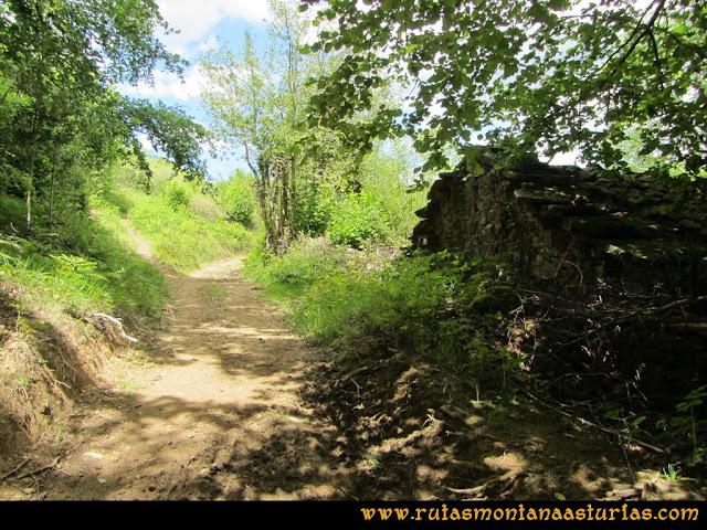 Ruta Lindes Peña Rueda Foix Grande: Las Escolmenas