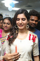 Samantha Ruth Prabhu Smiling Beauty in White Dress Launches VCare Clinic 15 June 2017 081.JPG