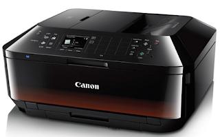 Drucker Canon Pixma MX922 ist der Bruder von MX522 in der Nähe von Wireless Office All-in-One, aber die Qualität des Geräts hat eine bessere Fotoabzüge, die Möglichkeit