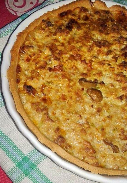 Quiche de atum Thermomix*