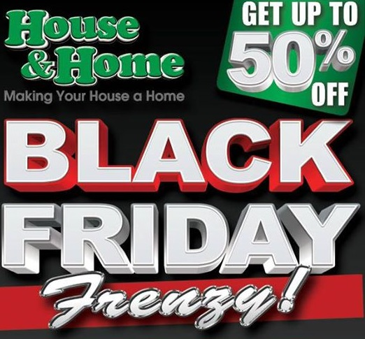 House & Home Black Friday 2018 Ads, Deals & Special Sales