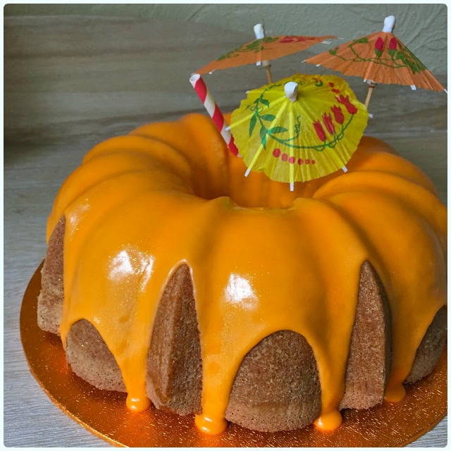Aperol Spritz Bundt Cake