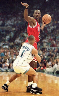 Muggsy Bogues, Michael Jordan, determination
