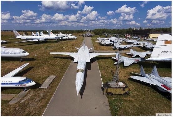 Jom Lihat Muzium Kapal Terbang Di Russia