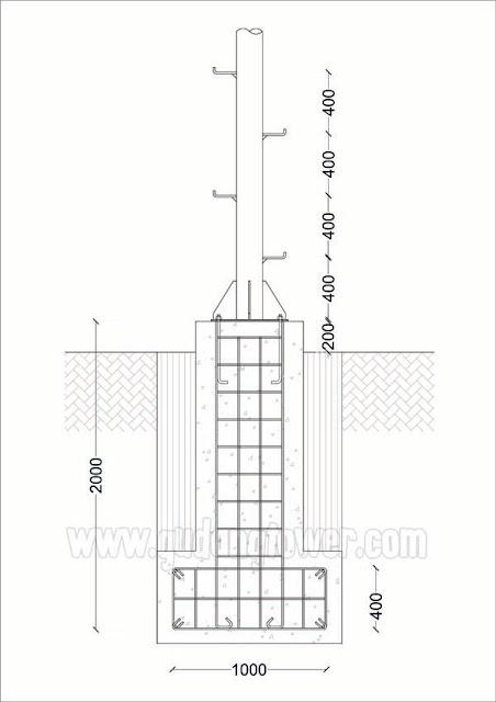 Tower Monopole 20 meter