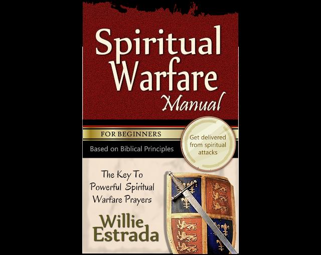 SPIRITUAL WARFARE MANUAL FOR BEGINNERS BOOK COVER