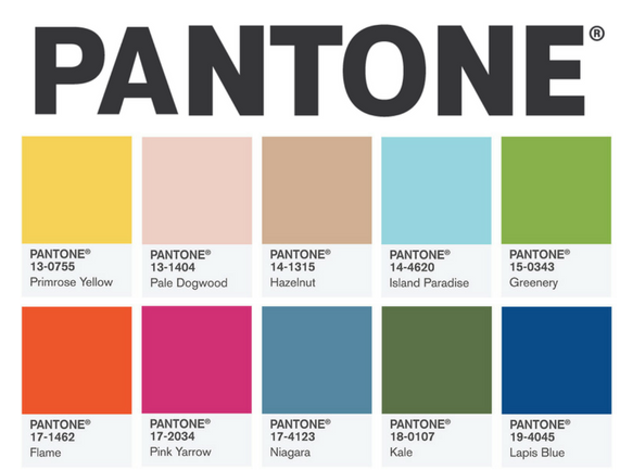 Pantone Top 10 Colors for Spring Summer 2017 liz breygel blogger