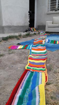 proyecto de arte colectivo- arte contemporaneo-arte textil