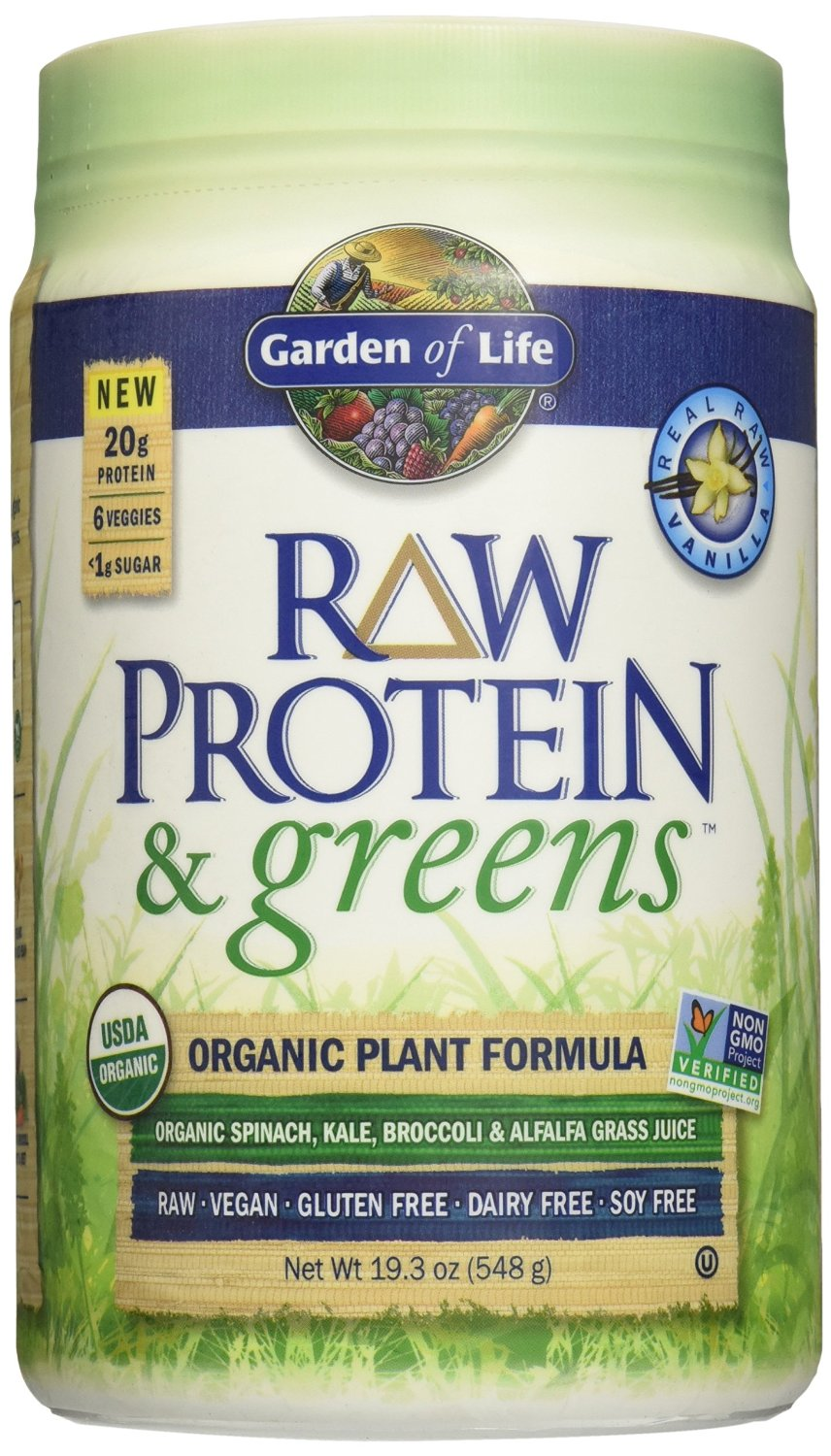 The Vegan Protein Powder Review Garden of Life RAW Protein and