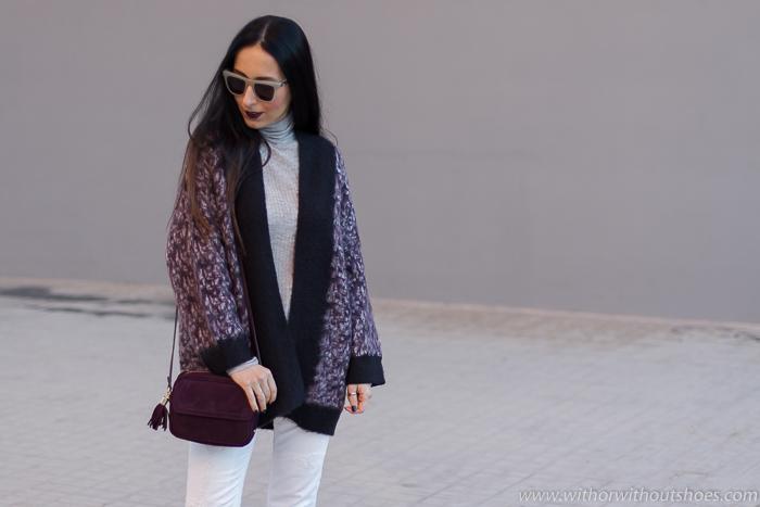 Bolso ante burgundy Gigi New York + Gafas de Sol IVANA AMEYEWEAR