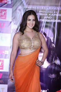 Sunny Leone in Saree - Sunny Leone's Extreme Sexiest 3 Collections In Saree even try to show her Booms-SUNNY LEONE ka SEXY