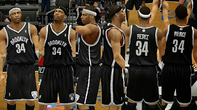 NBA 2K14 Brooklyn Nets Away Jersey