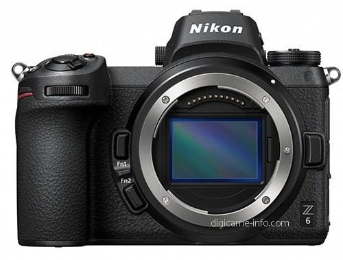 Nikon Z6, вид спереди