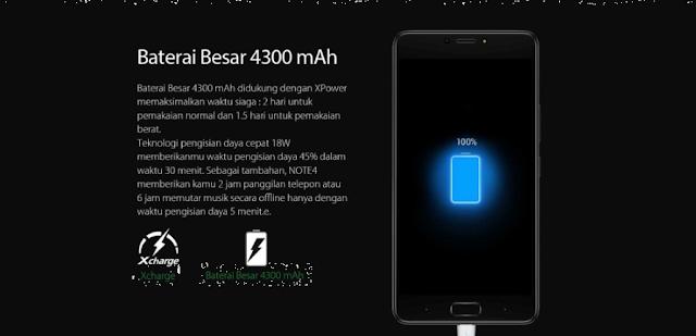 baterai infinix Note 4