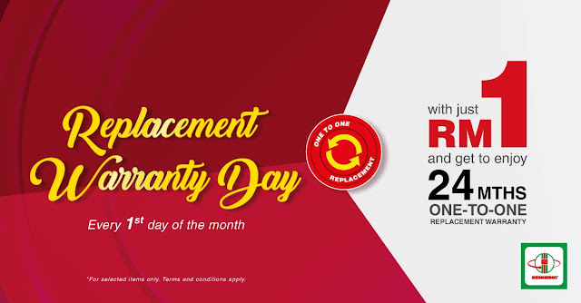 SENHENG Malaysia plusOne Member RM1 2 Year 1-to-1 Product Replacement Warranty