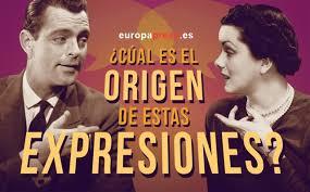 Etimoblog Dichos Y Expresiones Populares