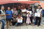 Forum Warga Tambora (FWT) Berikan Bantuan untuk Korban Kebakaran Krendang